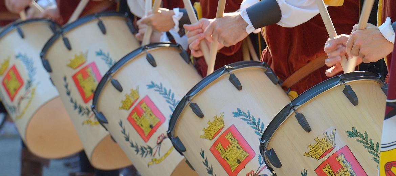 I tamburi del gruppo